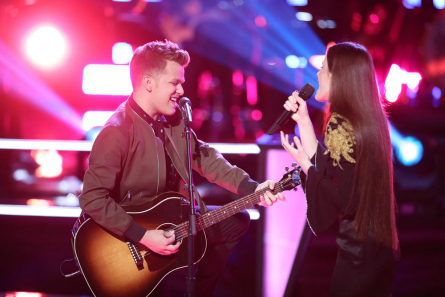 The Voice 14 Battles week 2, Britton vs Jaclyn