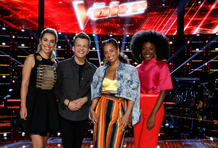 The Voice 14 live shows week 1, Team Alicia