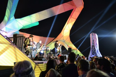 The Psychedelic Furs performing on state at the Twilight Concert Series photo Courtesy of Judy Hansen Pullos