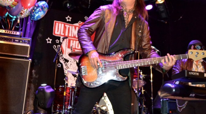 Chuck Wright Celebrated His Birthday during The Ultimate Jam Night at The Whisky A Go Go