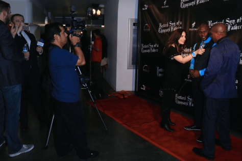 HPC's Vida G. interviews Tirf and Remoh on the red carpet for Eye on Entertainment