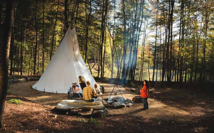 キャンプ UFO 誘拐