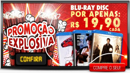 BluRay a 20 Reais