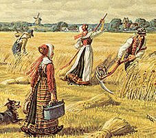 Fæstebønder med noget på kistebunden
