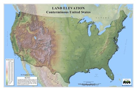 us topographical map related keywords & suggestions us