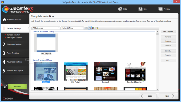 Incomedia WebSite X5 Professional 14.0.5.3 Crack & License Key