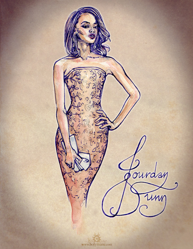 Illustration mode Jourdan Dunn