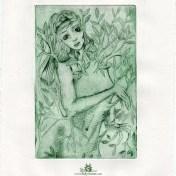 Daphne gravure