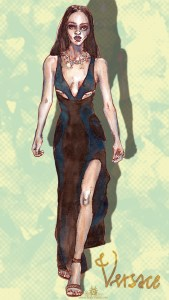 "Fashion Illustration "" Jourdan Dunn"""