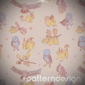 pattern design animaux