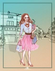 """Dessin et numérique """"shopping"""""""