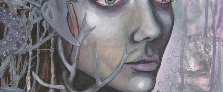 Peinture : Esturgeon