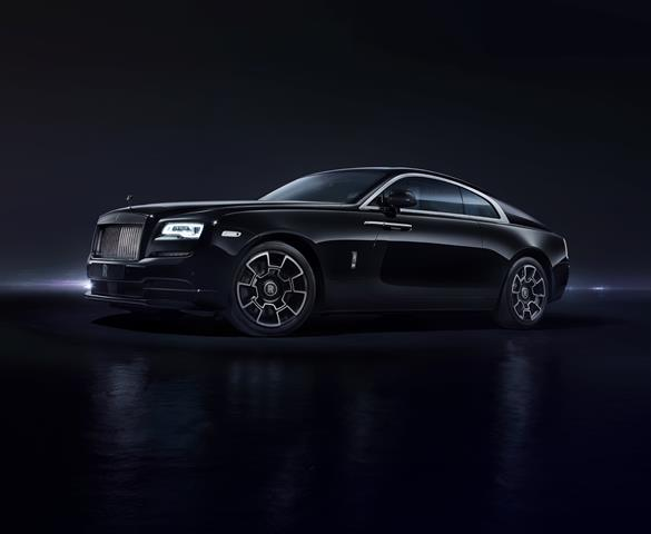 Rolls-Royce president Pedro Mota at introduction of Black Badge Series - for HOMBRE Magazine 1Wraith front 3_4_HighRes (Copy)
