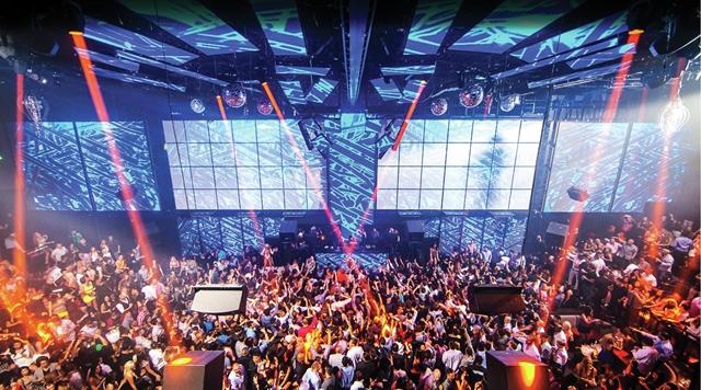Dance Floor at LIGHT Nightclub