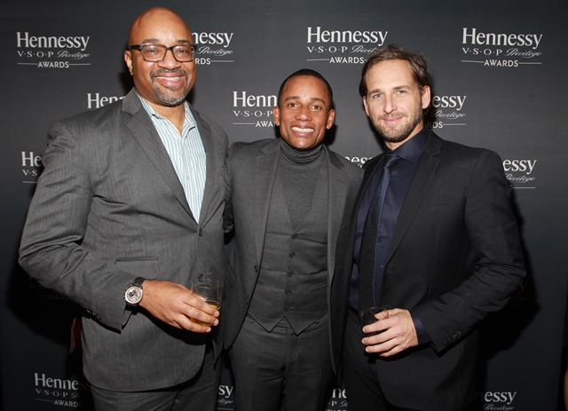 Rodney Williams, Hill Harper and Josh Lucas at the Hennessy Privilege Award