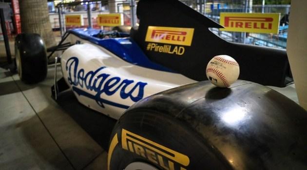 Pirelli Dodgers custom car