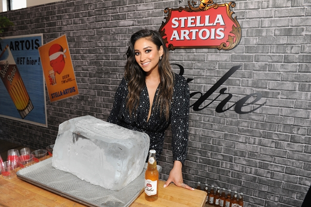 stella artois Shay Mitchell for HOMBRE Magazine 3