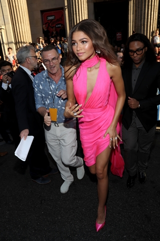 HOLLYWOOD, CA - JUNE 28: Zendaya attends the World Premiere of 'Spider-Man: Homecoming' hosted by Audi at TCL Chinese Theatre on June 28, 2017 in Hollywood, California. (Photo by Rich Polk/Getty Images for Audi)