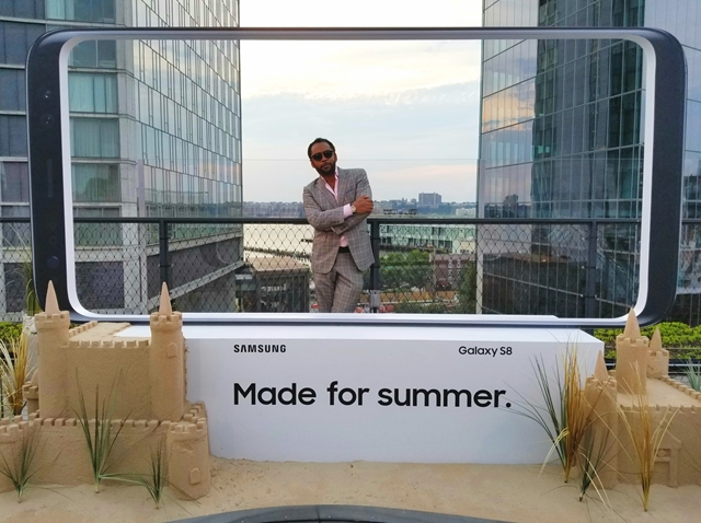 HOMBRE Magazine's Francisco Romeo attends Samsung's Made For Summer Campaign Launch