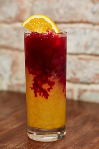 Halloween cocktails for HOMBRE Magazine Hornitos Potion de Muerto (Copy)