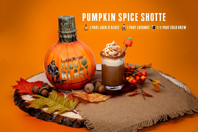 captain morgan Pumpkin Spice Shotte