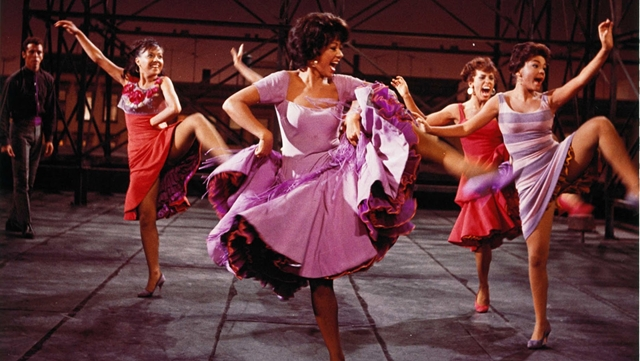 "Rita Moreno in her Academy Award winning role in ""Est Side Story"""