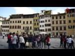 Vídeo de la Basílica de la Santa Cruz en Florencia, capital de la Toscana Italiana