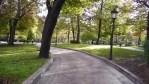 Campo de San Francisco, en Oviedo
