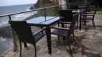 Las fabulosas vistas de la terraza sobre el mar del Itxas Gain