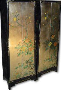 шкаф мебель роспись