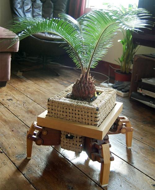 оригинальный горшок для пальмы