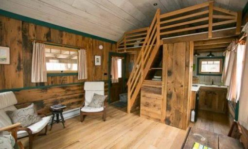 Внутренний дизайн дачного домика