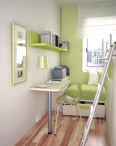 интерьер маленькой детской комнаты 1