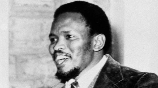 Anti-apartheid campaigner Steve Biko