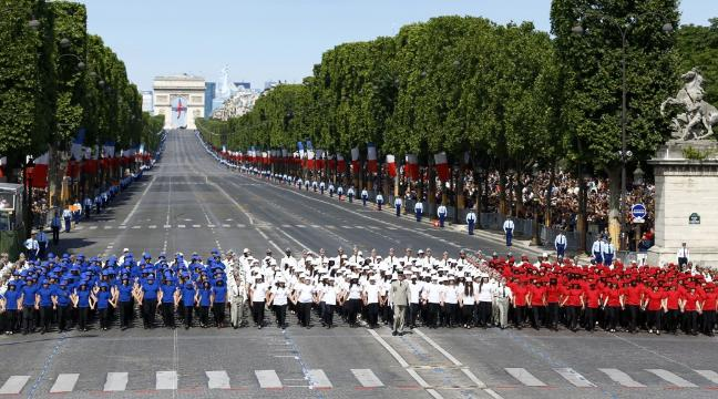 Paris is looking pretty spectacular for Bastille Day celebrations   BT Paris is looking pretty spectacular for Bastille Day celebrations