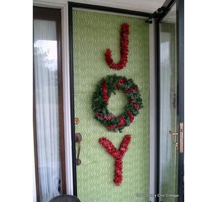 Christmas Joy Door