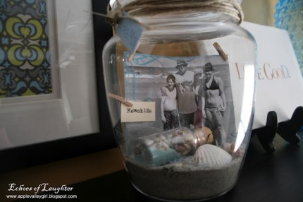 Vacation Memory Jar