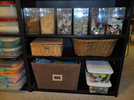 Organizing the Craft Room