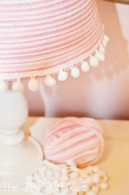 Pretty Yarn Lamp