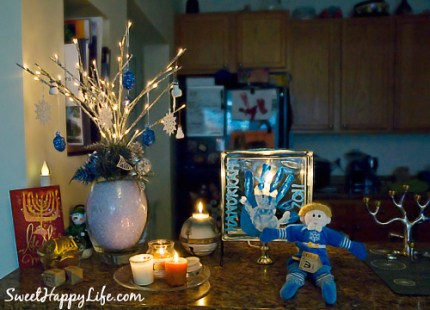 Hanukkah Mantle Ideas
