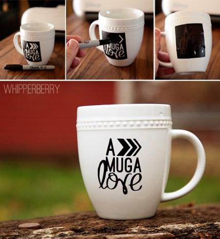 Sharpie Marker Love Mug
