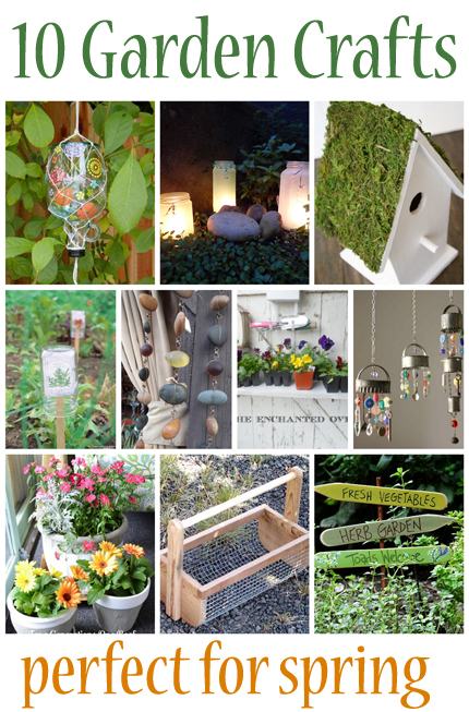 10 Garden crafts that are perfect for spring from @craftgossip