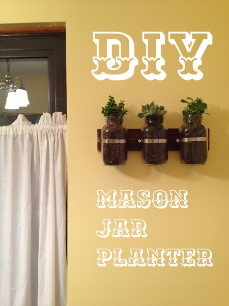 DIY-mason-jar-planter