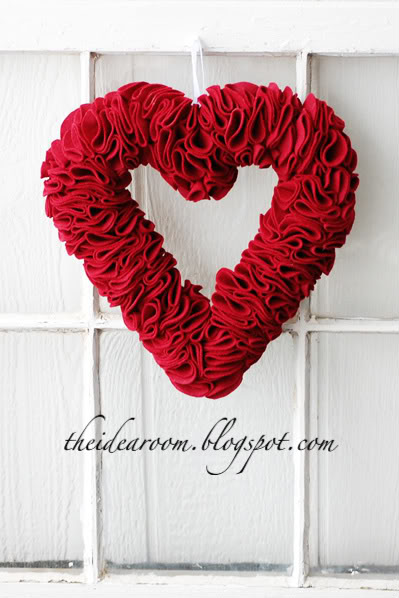 heart-wreath
