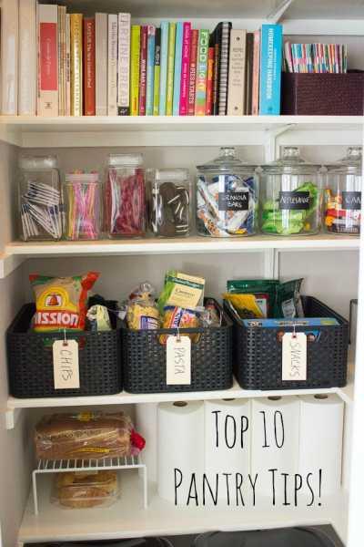 Top 10 Pantry Organization Tips Home And Garden