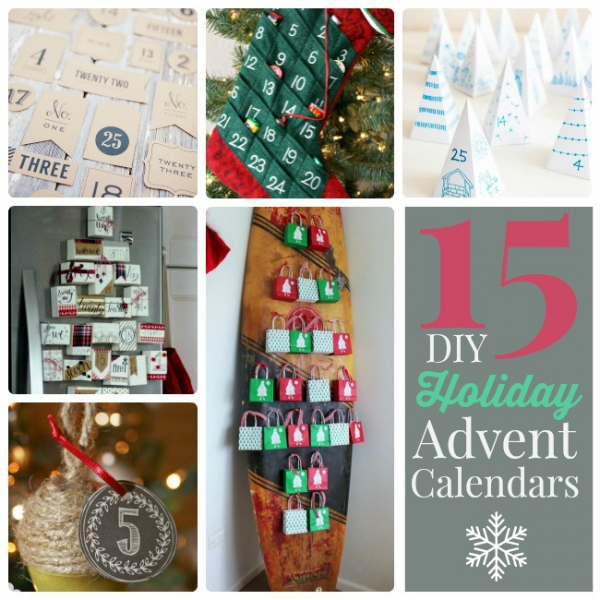 Diy advent calendars home and garden for Diy christmas advent calendar ideas