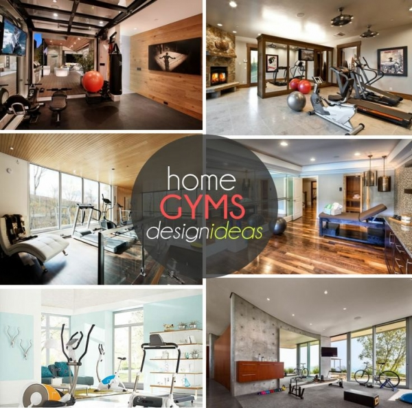 design ideas for an at home gym home and garden