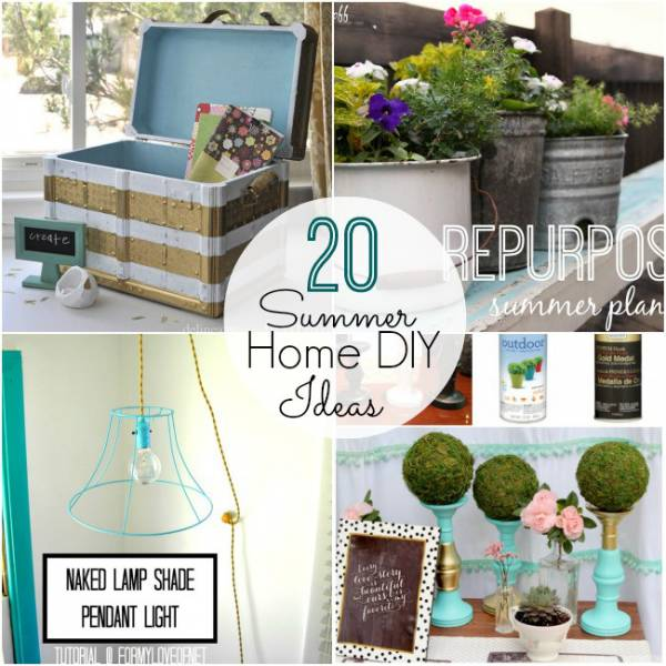 20 diy ideas to get your home summer ready home and garden - Summer projects house garden ...