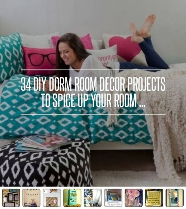 Decorating Ideas > 34 Ideas To Design And Decorate A Dorm Room – Home And Garden ~ 101727_Dorm Room Diy Crafts