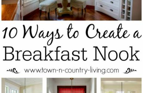 10 Ways You Can Create Your Own Charming Breakfast Nook